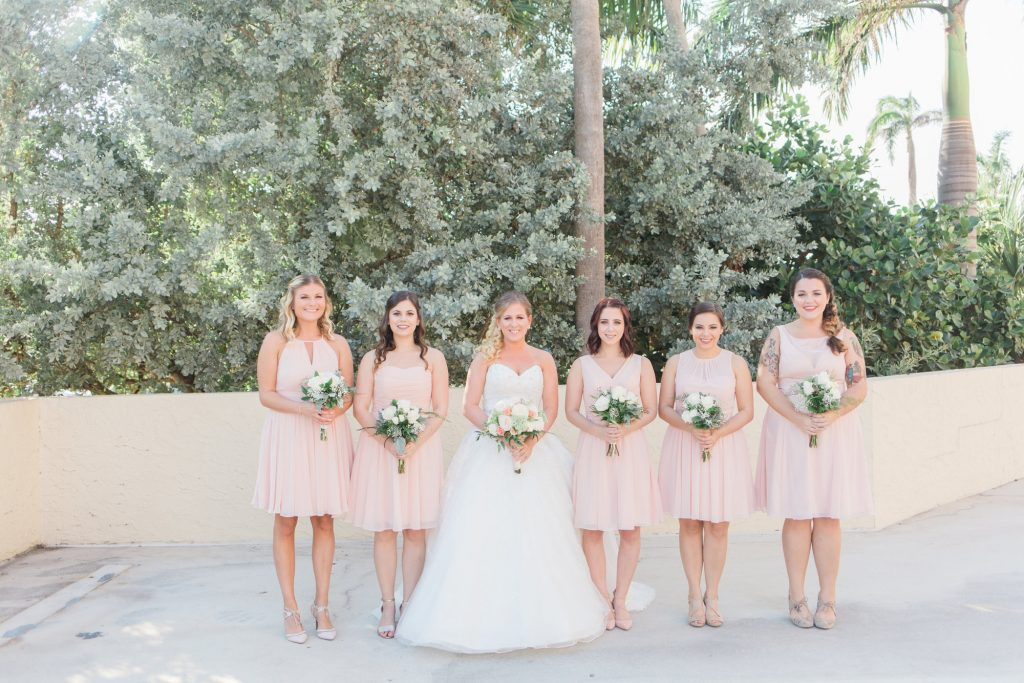 Delray Beach Marriott wedding flowers by Panache style