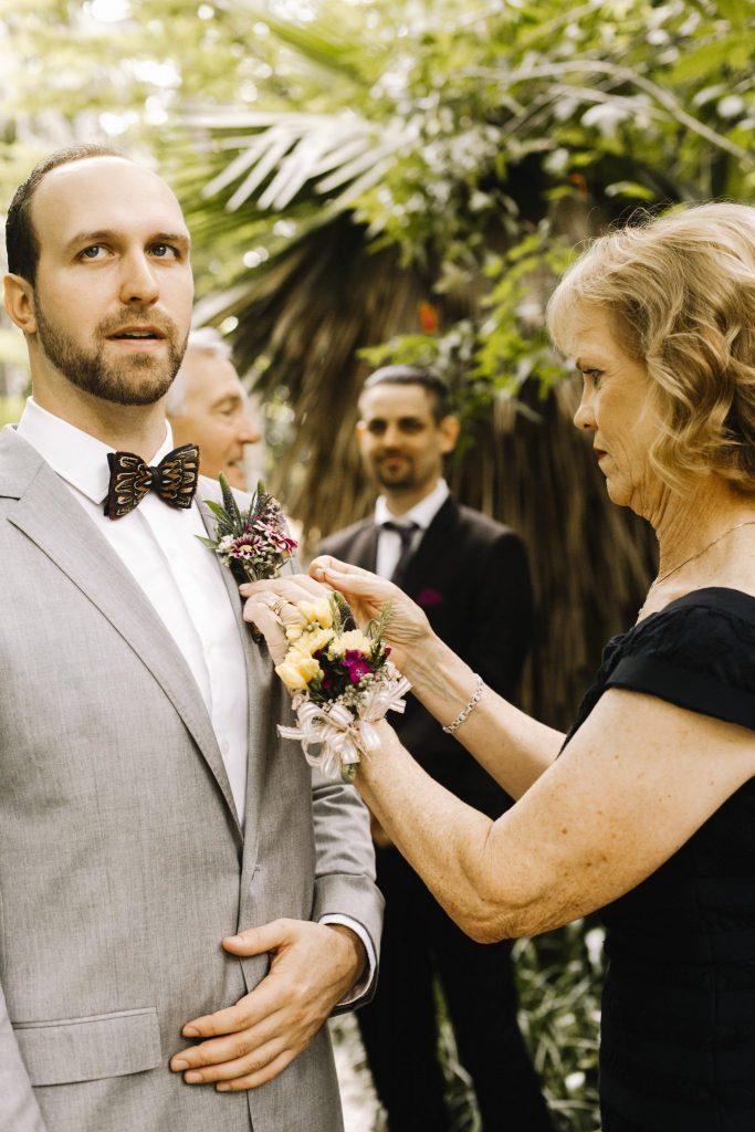 walton house wedding flowers Panache style