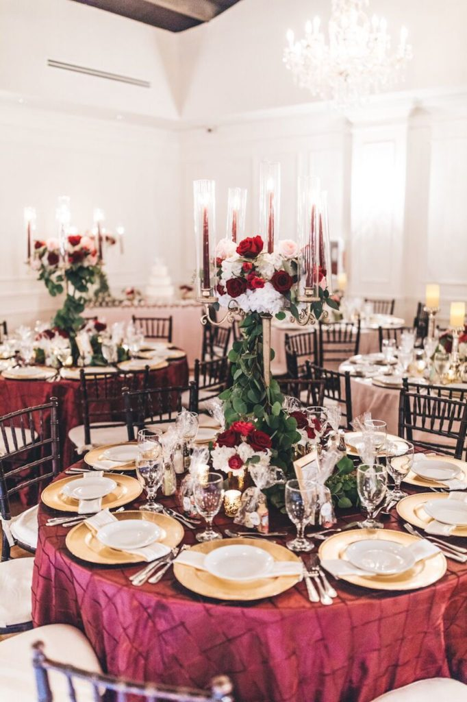 Panache Style , Plymouth Congregation, Coconut Grove, Club of Knights, Jessica Campbell, Stanlo Photography, Mia Farah Beautique, Florida Weddings, Burgundy accented wedding,