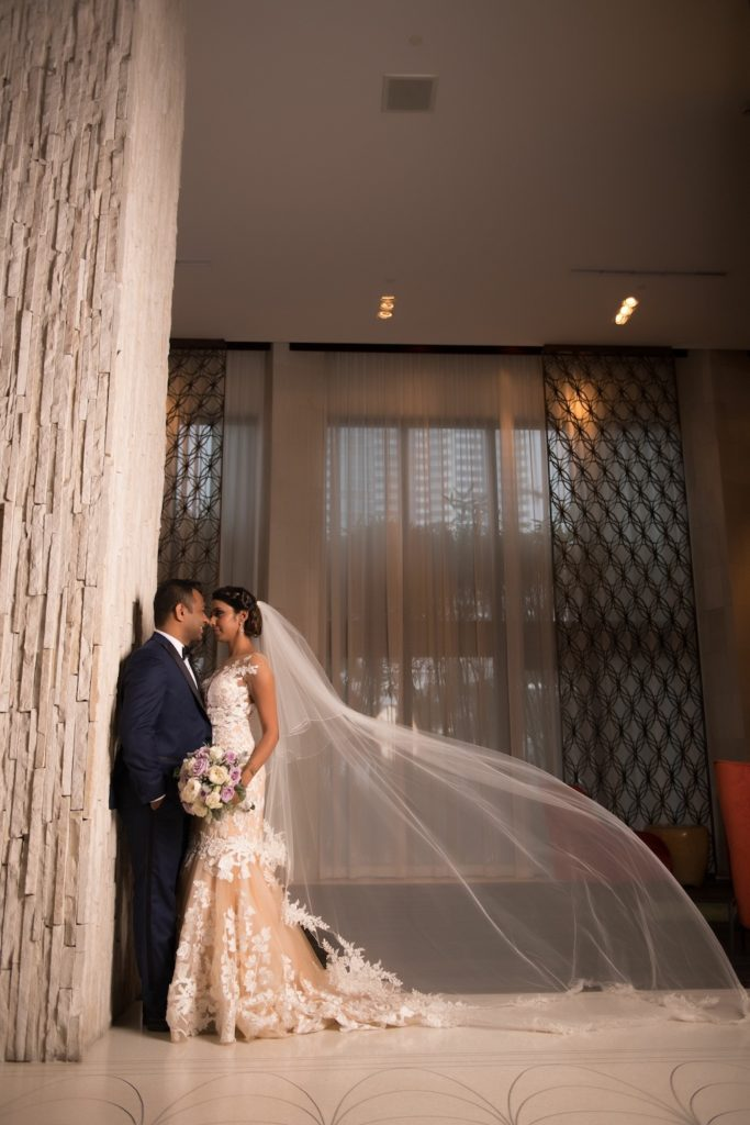 Panache Style, The W Hotel South Beach, Focused on Forever Photography, Pantone 2018, Ultra Violet, Pantone color of the year, Ultra Violet Wedding,