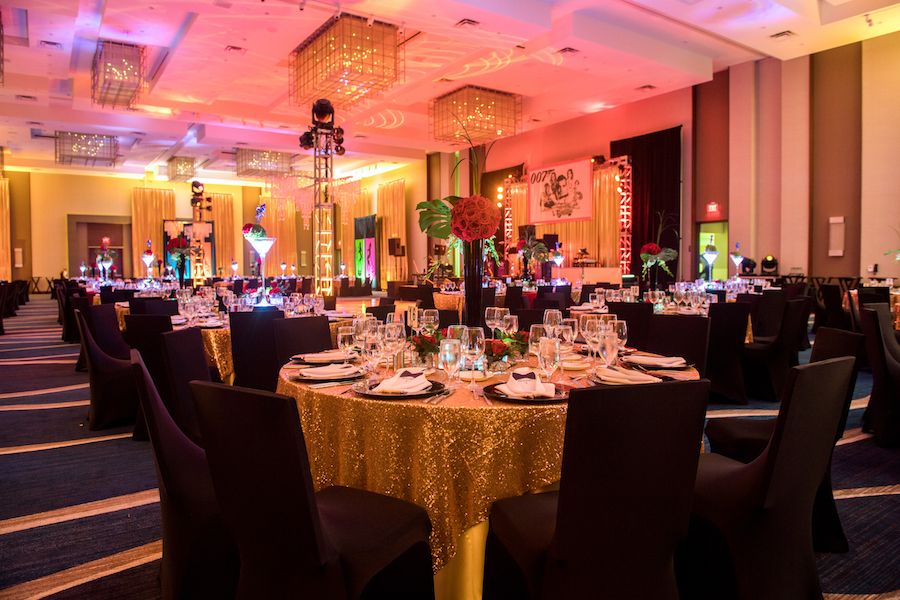 Luxurious And Artistic James Bond Corporate Party Panache Style