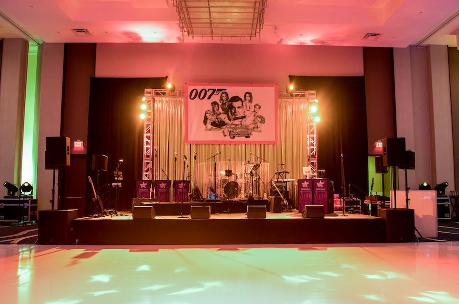 Luxurious and Artistic James Bond Corporate Party - Panache Style